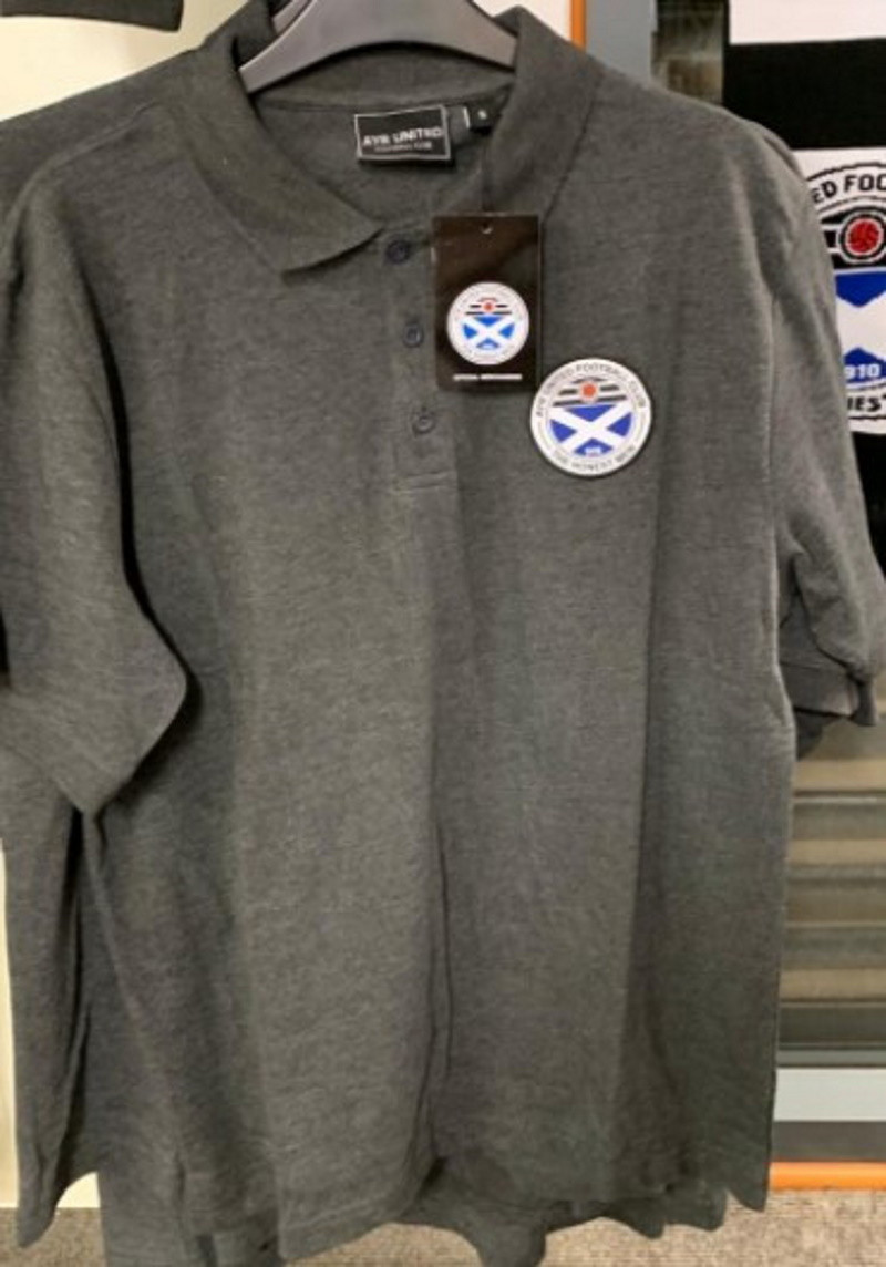 Charcoal Polo Shirt (Small)