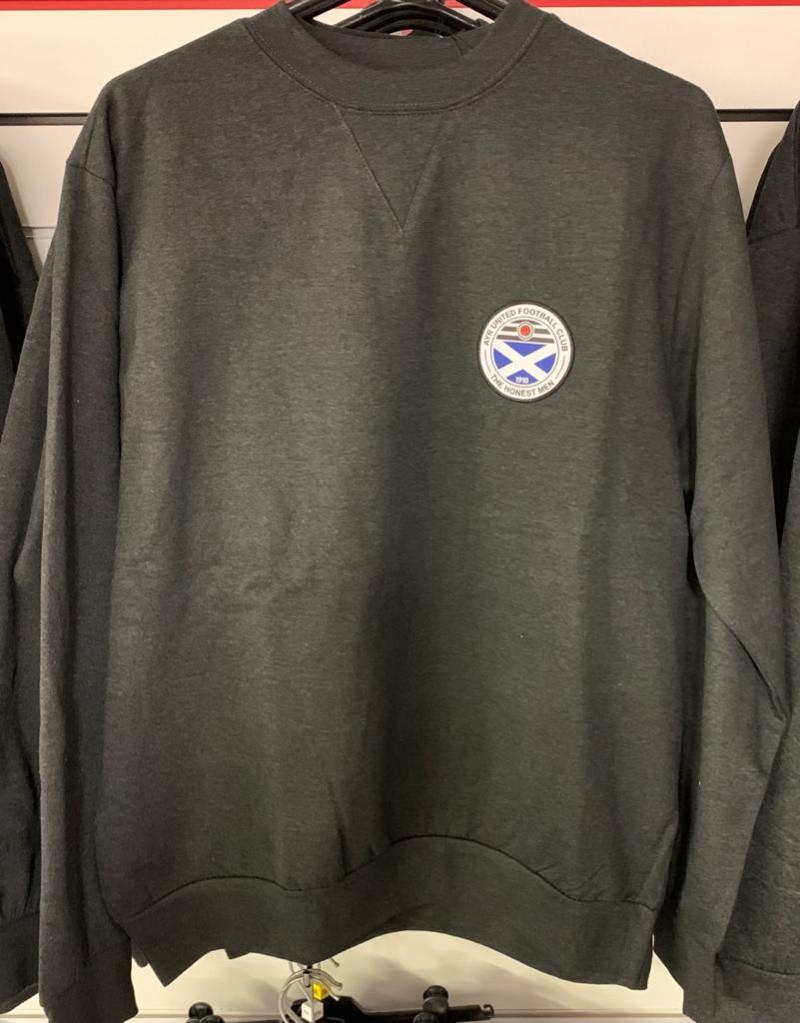 Charcoal Sweatshirt (Large)