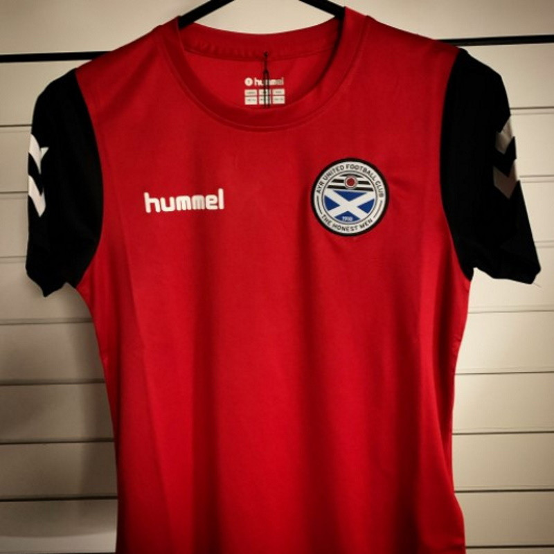 Core Hybrid Jersey Red/Black Youth (140-152)
